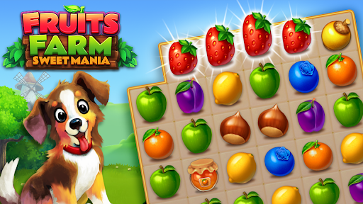 Fruits Farm: Sweet Match 3 games  screenshots 1