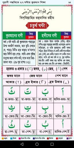 Learn Bangla Lahori Quran in 27 Hours hack tool