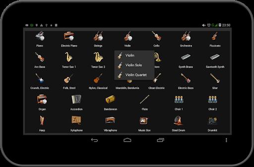 Strings and Piano Keyboard android2mod screenshots 23