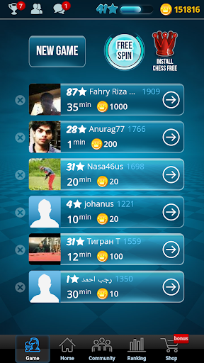 Chess Online apktreat screenshots 1