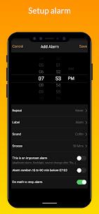 iClock iOS Mod Apk- Clock iPhone Xs (Pro Features Unlocked) 3