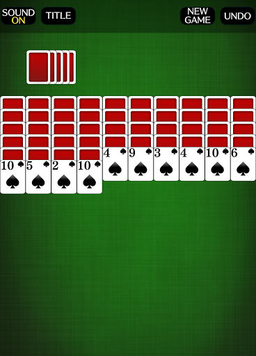 Spider Solitaire [card game] screenshots 3