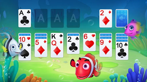 Solitaire 3D Fish apktram screenshots 1