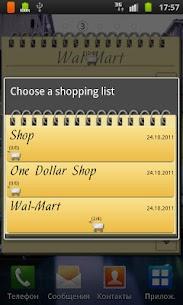 Shopping List Widget Apk 4