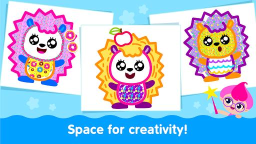 Bini Toddler Drawing Apps! Coloring Games for Kids apktram screenshots 8