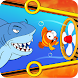 Fish Rescue - Pull Pin Puzzle
