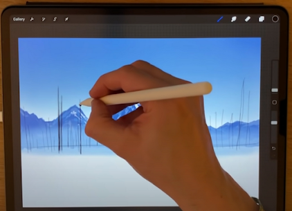 Paint Pocket App For Artists Drawing Free Advices. 5