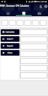 IPAM-USL Grade Calculator Screenshot