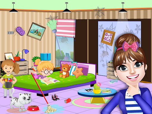 Pretend Play Hotel Cleaning: Doll House Fun 1.1.5 screenshots 2