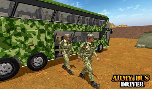 Army Bus Driving 2019 - Military Coach Transporter 1.0.9 screenshots 16