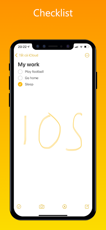 iNote - iOS Notes, iPhone Note poster 14
