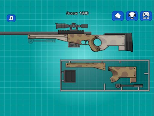 Assemble Toy Gun Sniper Rifle 2.0 screenshots 8