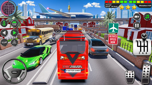 Bus Driving Simulator Games : Coach Parking School 1.7 screenshots 21