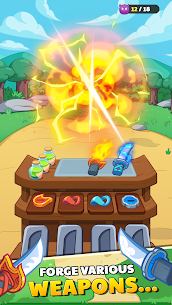 Forge Hero: Epic Cooking Adventure Game Mod Apk 0.0.1 (Lots of Money) 2