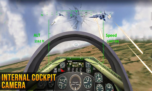 Fighter Jet Air Strike - New 2020, with VR 7.8.8 screenshots 4