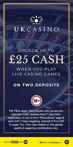 UK Casino: Real Money Games, Blackjack & Roulette 4.3.4 1