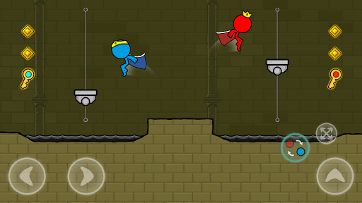 Red and Blue Stickman : Animation Parkour 1.0.6 screenshots 7