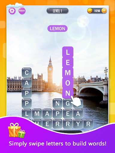 Word Town: Search, find & crush in crossword games  screenshots 7