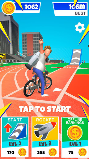 Bike Hop: Crazy BMX Bike Jump 3D screenshots 1