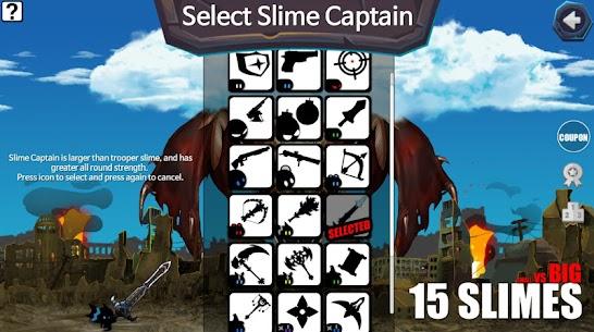 15 Slimes! : Offline Action Defence 4