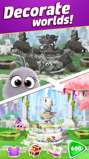 Angry Birds Match 3 modiapk screenshots 1