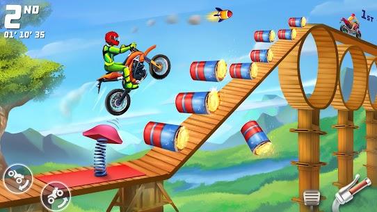 Bike Racing Multiplayer Games: Bike Stunt Games 6
