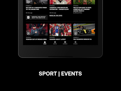 Eurosport: Sports News, Results & Scores Screenshot