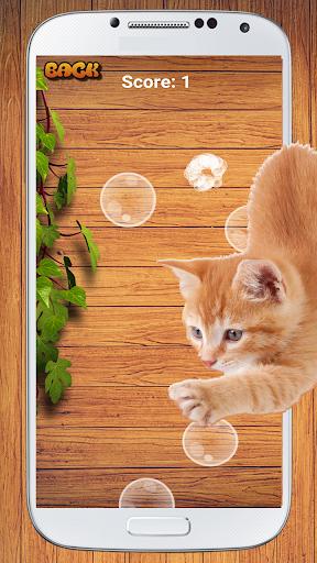 cat game - bubble pop screenshot 2