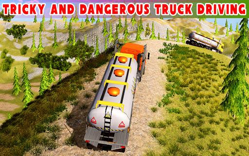 Offroad Oil Tanker Truck Simulator: Driving Games  screenshots 9