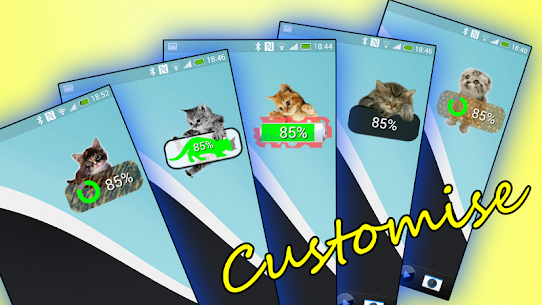 Kitten Battery Widget Premium For Pc 2020 (Download On Windows 7, 8, 10 And Mac) 1