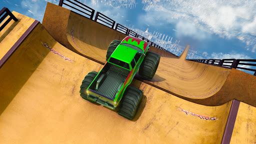 Télécharger Monster Truck Mega Ramp - Extreme Stunts GT Racing apk mod screenshots 6