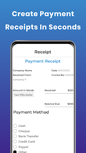 Invoice Maker - Receipt & Billing app