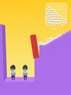 Draw & Hit: Kick the Robber!