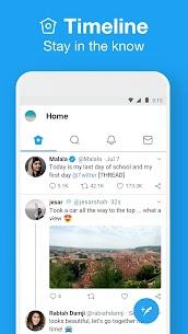 تحميل تويتر لايت للاندرويد APK احدث اصدار Twitter Lite 2