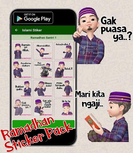 Puasa Ramadhan Stiker 2020 Islami WastickerApps  screenshots 3