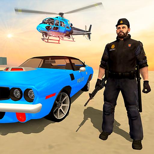 محاكاة الجريمة الشرطة - ألعاب العصابات الحقيقي