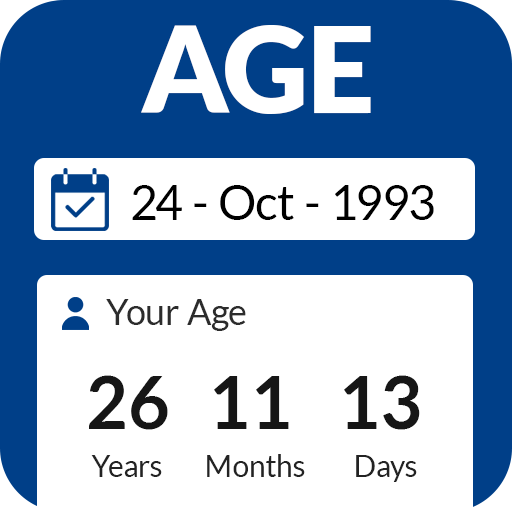 Age Calculator by Date of Birth⌛️: Age App 🙆