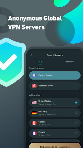 Super VPN Proxy Master & Protector - ACE VPN android2mod screenshots 3