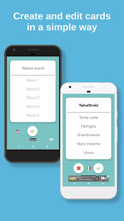 TabuDroid - The taboo game app