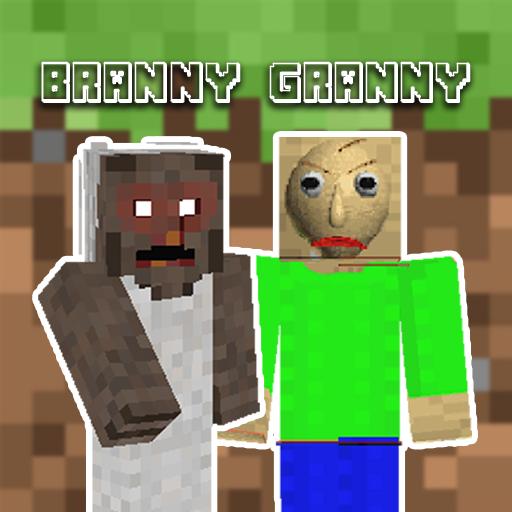 Skins Branny Granny For Minecraft
