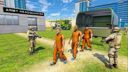 Army Prisoner Transport & Army Plane Game 3d  Pc-softi 9