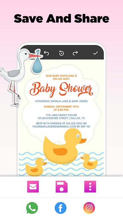 Invitation Maker - Birthday & Wedding Card Design poster 18