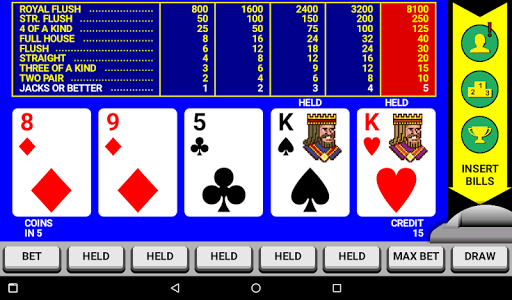 Video Poker Classic Double Up 6.20 screenshots 9
