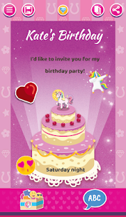 Unicorn Invitations Cards  For Pc | How To Install On Windows And Mac Os 1