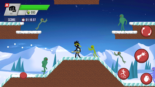 Stickman vs Zombies screenshots 1