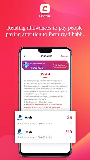 Cashzine: Buzz Interact & Get Reward Daily apktram screenshots 5