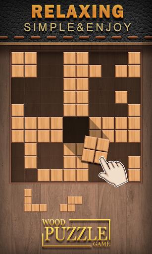 wood puzzle mania -block puzzle wood screenshot 1