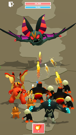 Merge Monster Evolution:  Summon & Merge RPG 1.0.16 screenshots 1