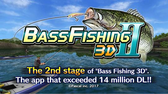 Bass Fishing 3D II MOD Apk 1.1.27 (Unlocked) 1
