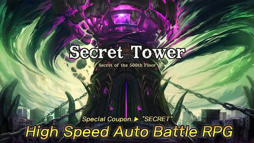Secret Tower 500F (Super fast growing idle RPG)  screenshots 2